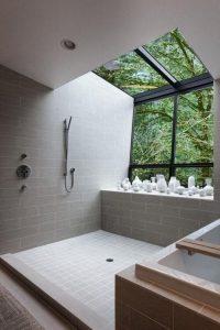douche-vue-nature-baie-vitree-fenetre