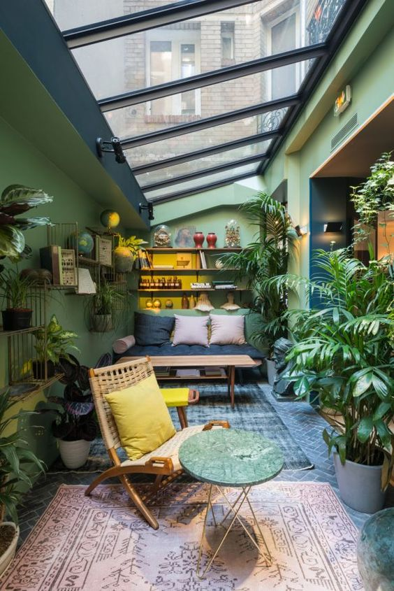 veranda-decoration-vert-plants-moblier
